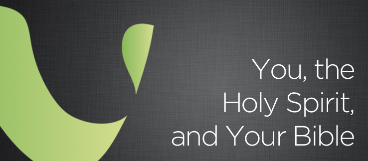 You, the Holy Spirit, and Your Bible